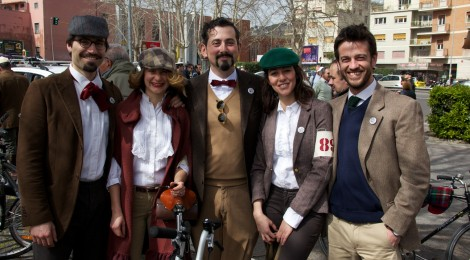 Tweed Ride a Milano irresisitibile tentazione