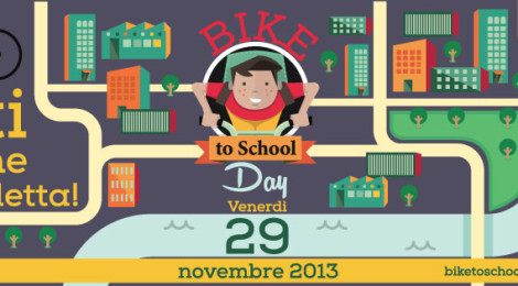 Bike to school a Roma , Andiamo bene!
